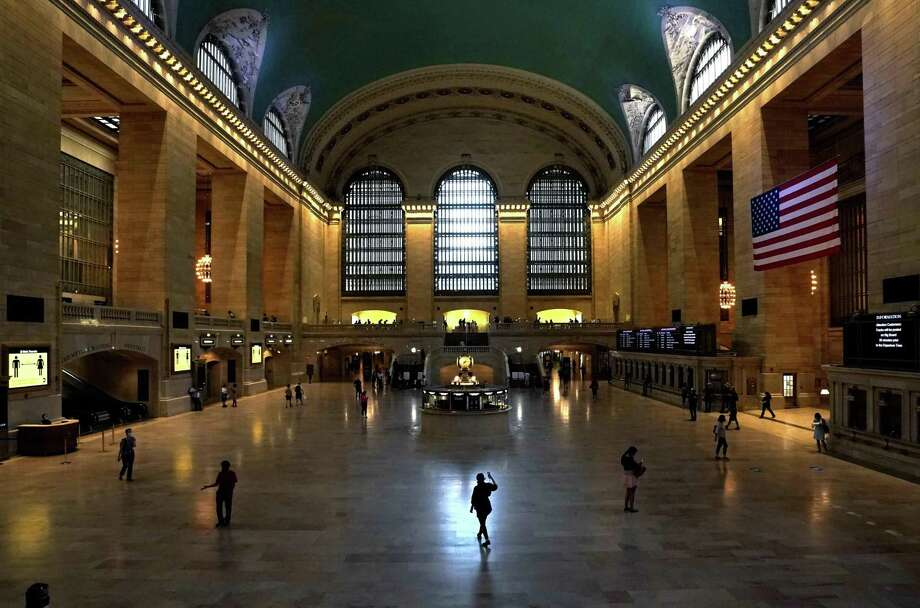Grand Central Terminal in New York City on Tuesday, July 21, 2020. Photo: TIMOTHY A. CLARY / AFP Via Getty Images / AFP or licensors