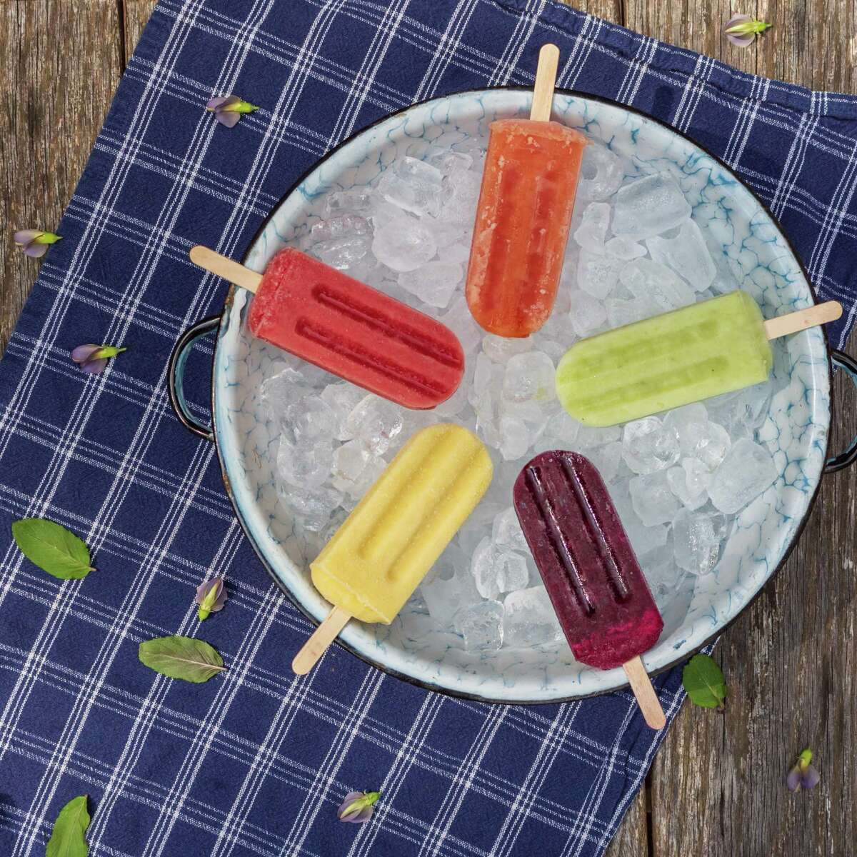 Bees Knees Ice Pops sells their inventive ice pops at farmers markets around Fairfield County.