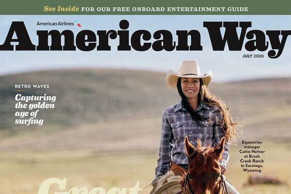 The July issue of American Way, the in-flight magazine for American Airlines. It's the last of its kind among major carriers, at least on domestic flights.American Way magazine.