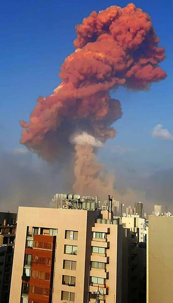 Massive explosion shakes Lebanon's capital Beirut - SFGate