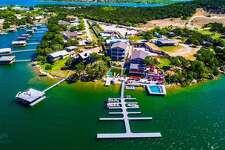 Lush Resort is located at 3201 Redbird Road, Graford, Texas.