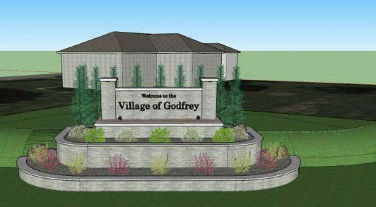 The group Pride Inc. is working with Godfrey officials to create new signage as people enter the village.