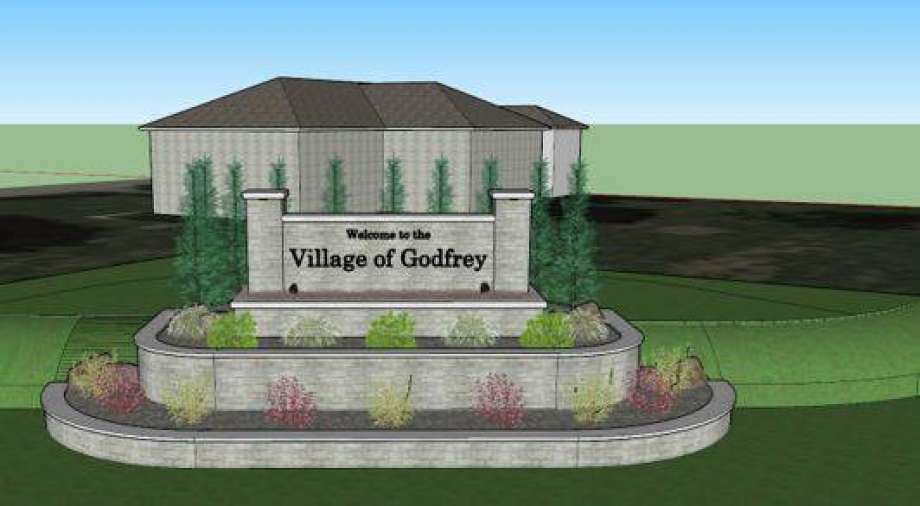 The group Pride Inc. is working with Godfrey officials to create new signage as people enter the village. Photo: The Telegraph