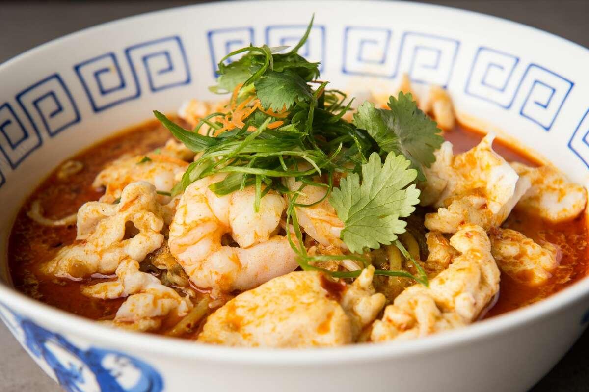 Curry laksa at Phat Kitchen.