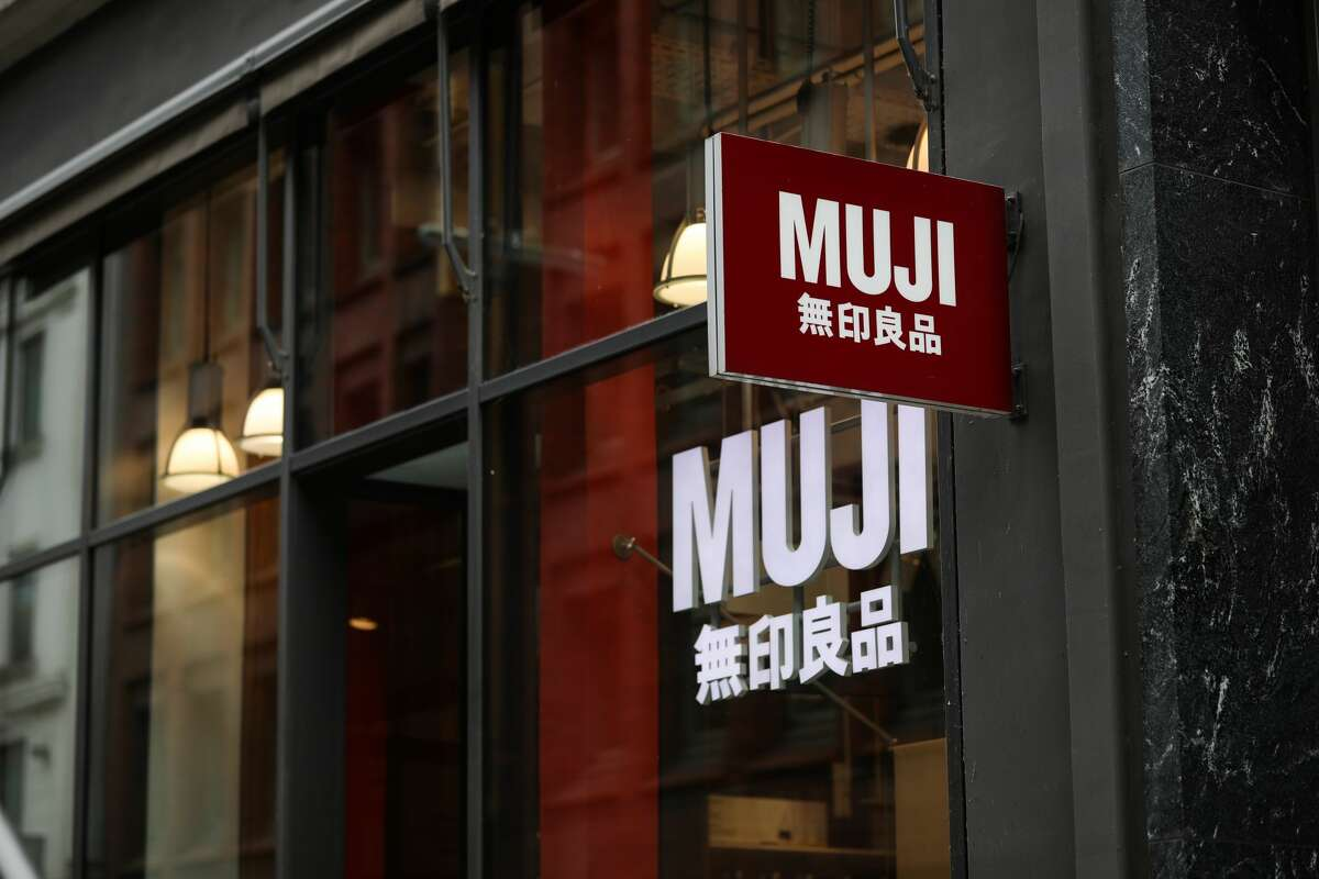 FILE -- A Muji sign store is seen on July 03, 2020 in Hamburg, Germany.