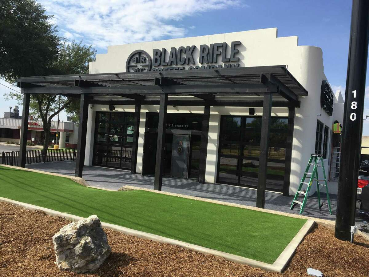 Black Rifle Coffee: The Black Rifle Coffee Co. era begins in San Antonio at 5 a.m. on Wednesday morning, with a full drive-thru and in-store service at the new store near the intersection of Bitters Road and U.S. 281. The location at 180 W. Bitters Road, the former home of Market Barbecue, is the first brick-and-mortar shop for the popular Salt Lake City-based franchise in the city. Black Rifle Coffee Co., 180 W. Bitters Road. Hours: 5 a.m. to 10 p.m. Sundays through Thursdays, 5 a.m. to 11 p.m. Fridays and Saturdays. Online: blackriflecoffee.com