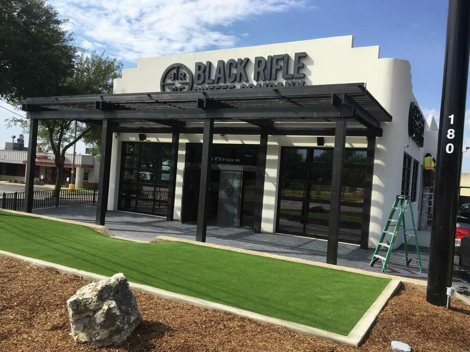 Black Rifle Coffee Co.'s first brick-and-morter store, at 180 W. Bitters Road, opens its doors today. Photo: Chuck Blount /Staff File Photo