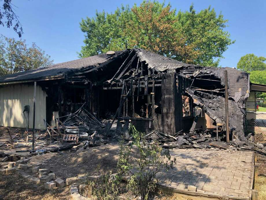 A Willis woman has died following severe burns she suffered earlier this week when a fire ripped through a home in the 12600 block of Ridgecrest Drive in the Lake Conroe Hills subdivision. Photo: Courtesy Of The Montgomery County Fire Marshal's Office