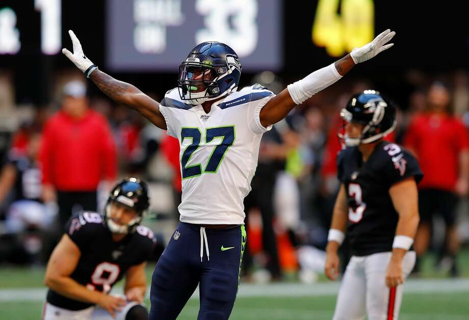 The Seahawks defensive plans in 2020 could mean especially big roles for two of their top picks in the last couple drafts: first-round linebacker Jordy Brooks and Marquise Blair (pictured), a 2019 second-round pick. Photo: Kevin C. Cox/Getty Images / 2019 Getty Images