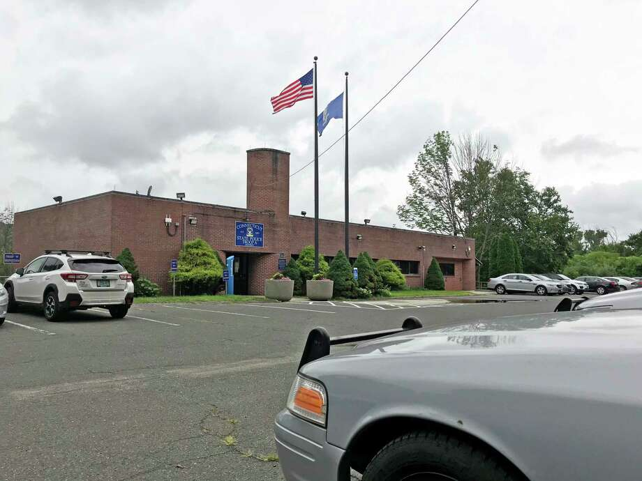 Connecticut State Police Troop A headquarters in Southbury, Conn. Photo: Kendra Baker / Hearst Connecticut Media