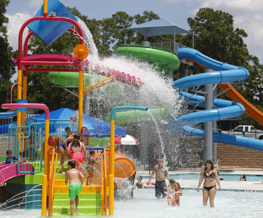 The waterpark's opening day was on Wednesday, Aug. 4. Photo: Jason Fochtman/Staff Photographer / 2020 ? Houston Chronicle