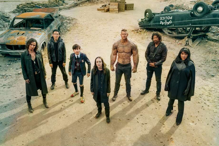 Netflix's 'Umbrella Academy' leads you to the most classic of would-you-rathers: which of their superpowers would you rather have? Photo: CHRISTOS KALOHORIDIS/NETFLIX / ? 2020 Netflix, Inc.