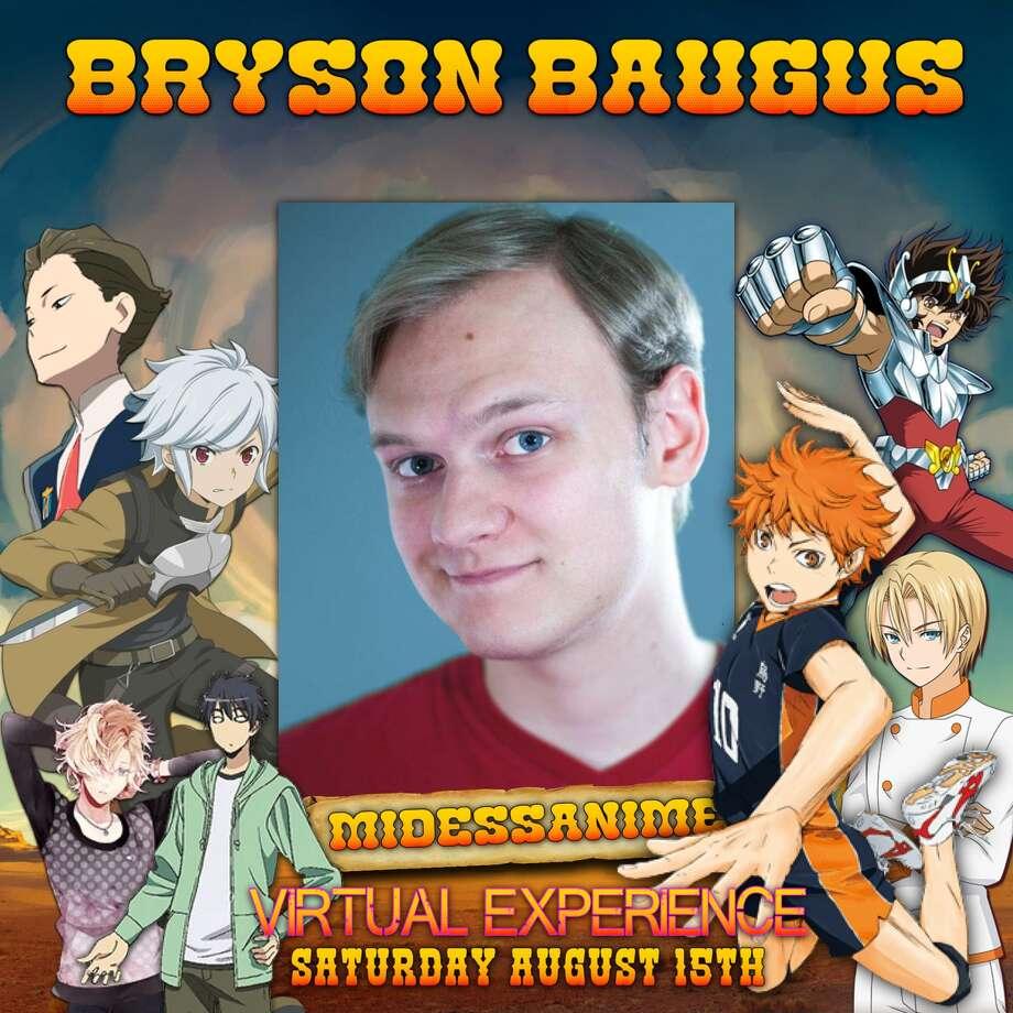 "Bryson Baugus (voice of Shoyo Hinata in ""Haikyuu!!"") Photo: Courtesy Photo"