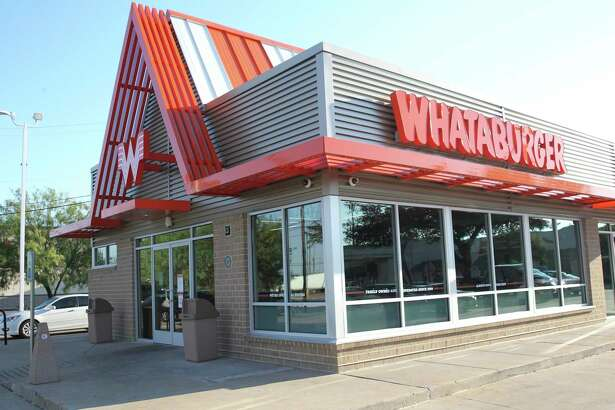 Whataburger, which celebrates its 70th anniversary this month, is also remaking existing restaurants. It recently updated its 7007 S. Zarzamora St. location, shown here.