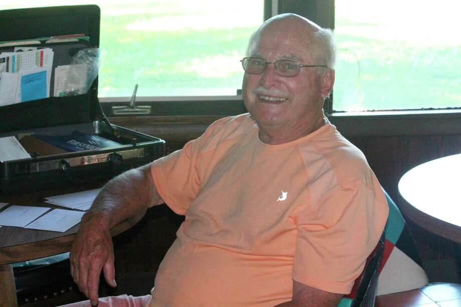 Herb Taylor is secretary of Spring Valley's Thursday men's golf league. (Herald Review photo/John Raffel)