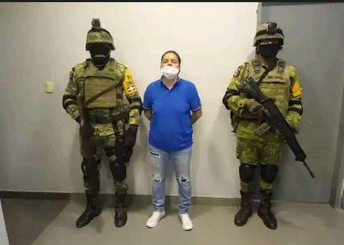 Cartel Del Noreste leader Edén Guadalupe Villarreal Gómez was arrested Tuesday in Nuevo Laredo.