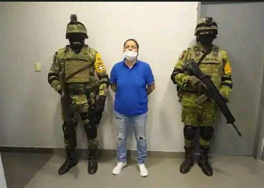 Cartel Del Noreste leader Edén Guadalupe Villarreal Gómez was arrested Tuesday in Nuevo Laredo. Photo: Courtesy Photo