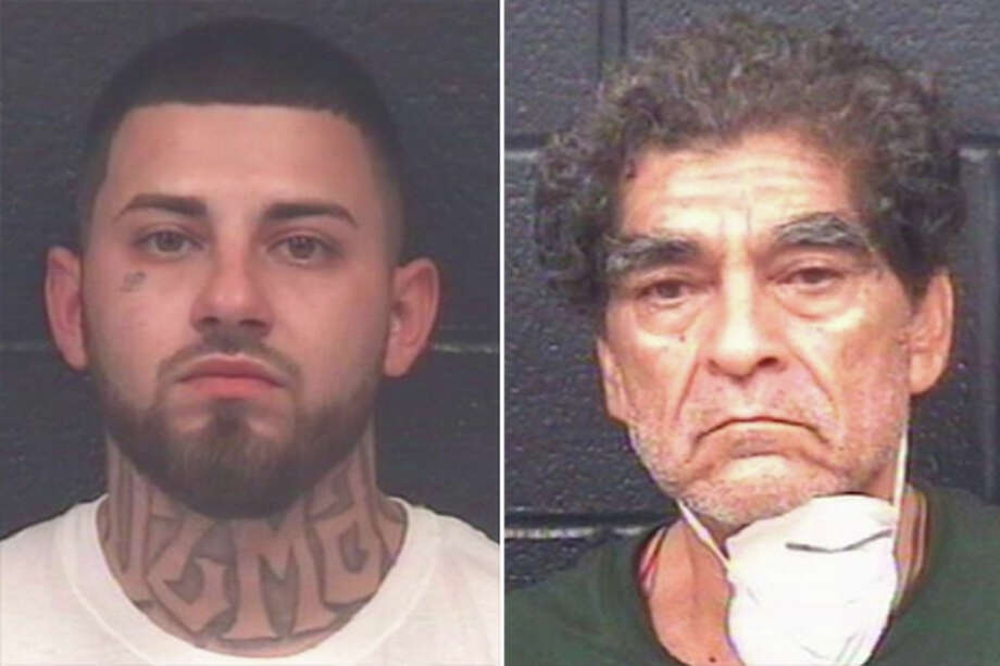 A Laredo Crime Stoppers tip led to the arrest of two people, including a man acquitted of murder in 2017, at a suspected drug house, according to Laredo police. Photo: Courtesy