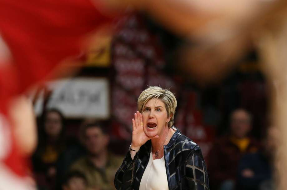 Head coach of Texas Tech Women's Basketball Marlene Stollings and her coaching staff are accused of creating a toxic environment by basketball players. Photo: Jerry Holt, Getty Images