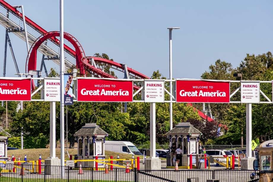 California's Great America in Santa Clara will remain closed until 2021. Photo: Andrei Stanescu/Getty Images