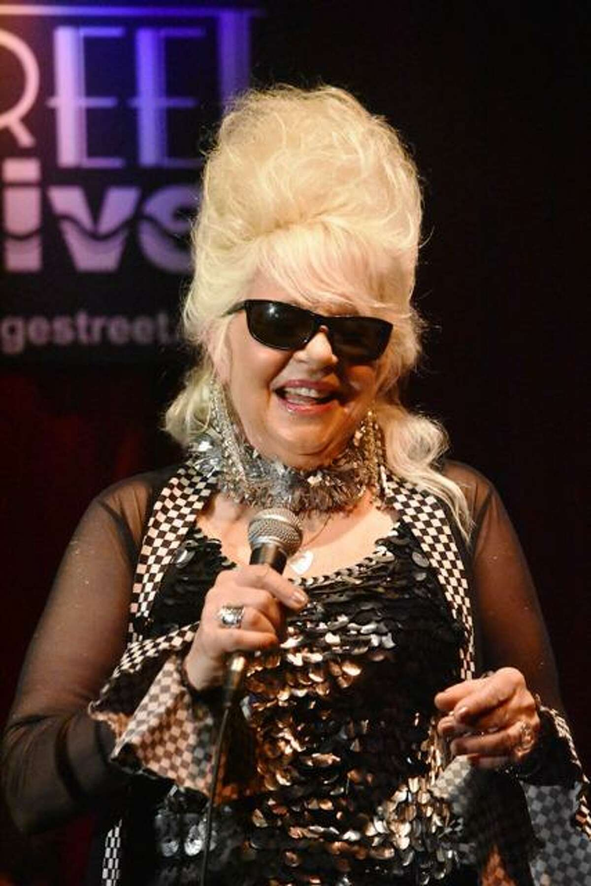 """Rocker Christine Ohlman, """"The Beehive Queen"""" is performing at the Chirp Concert Series in Ridgefield Aug. 6."""