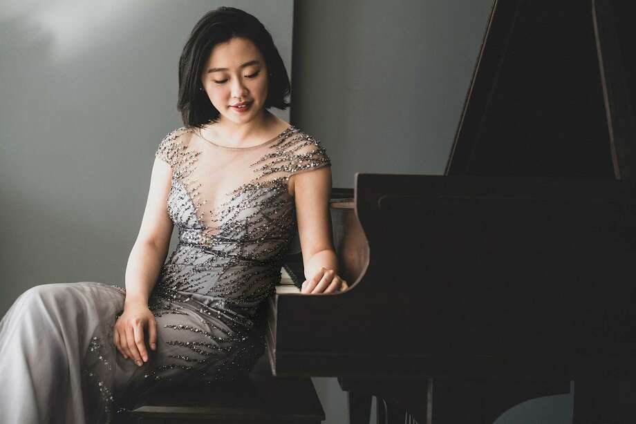 Pianist Fei-Fei is the featured performer for Music Mountain's Aug. 9 concert. Photo: Music Mountain / Contributed Photo