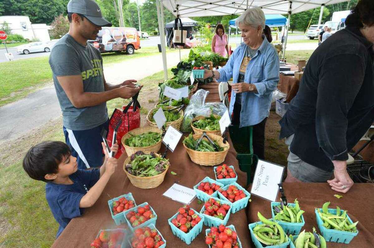 The Wilton Farmers Market is open today, Wednesday, Aug. 5.