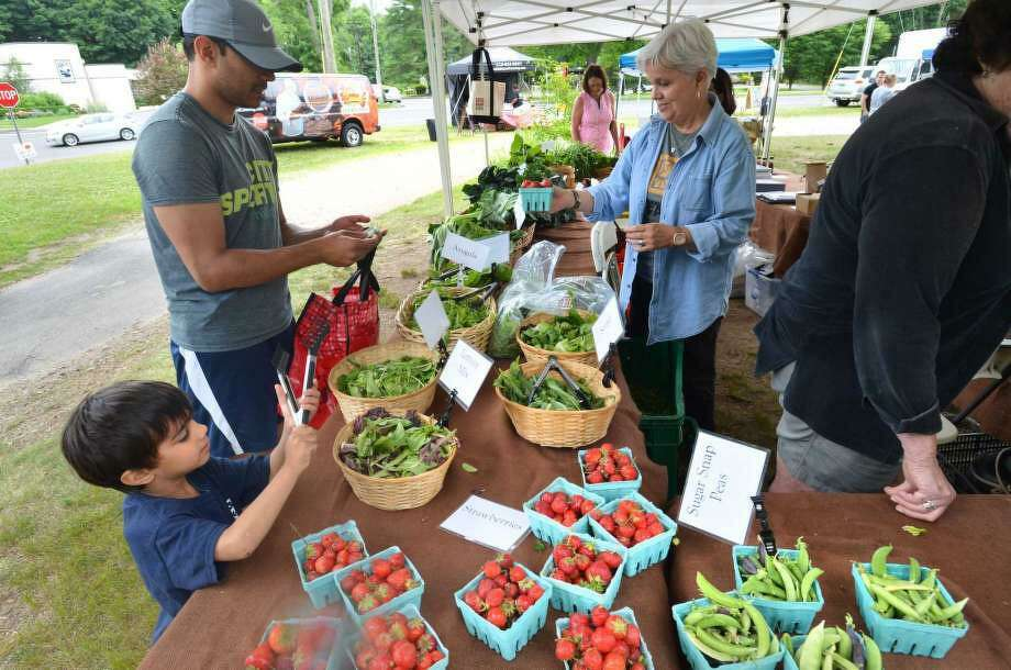 The Wilton Farmers Market is open today, Wednesday, Aug. 5. Photo: File Photo