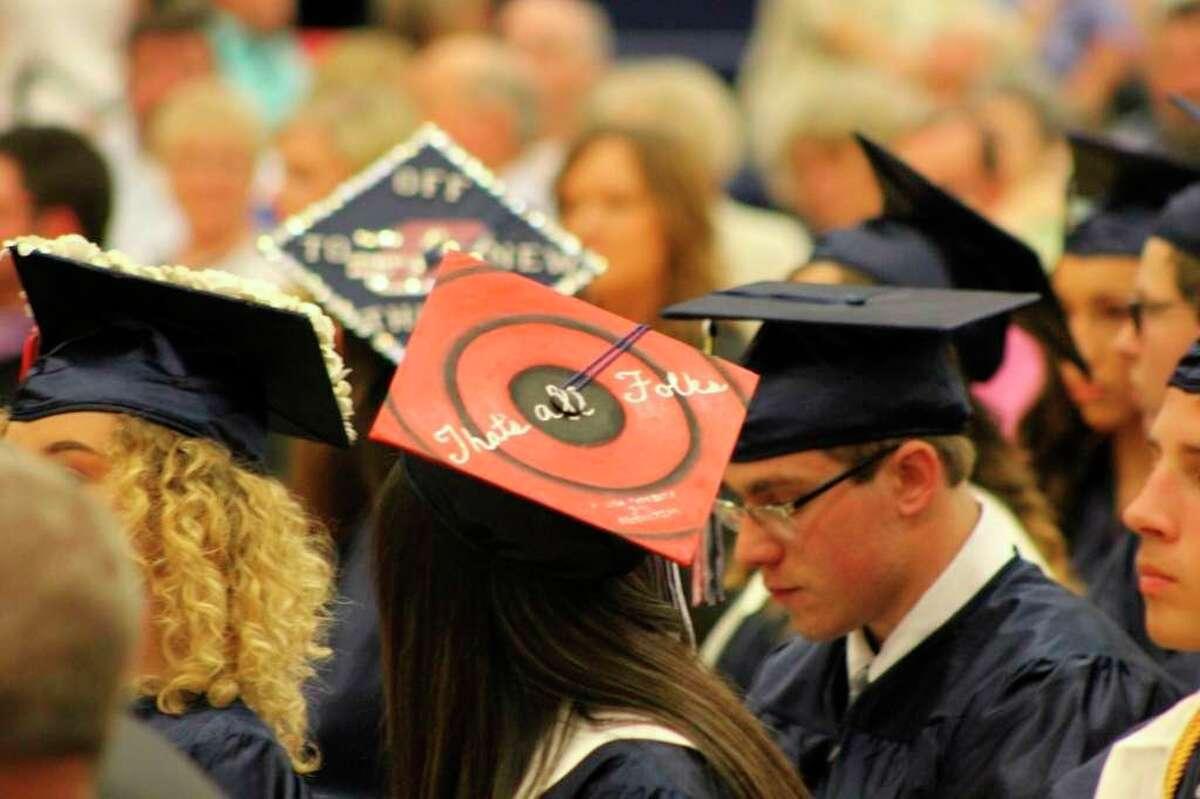The USA Patriots will assemble Aug. 9 to celebrate the graduating class of 2020. (Robert Creenan/Tribune File)