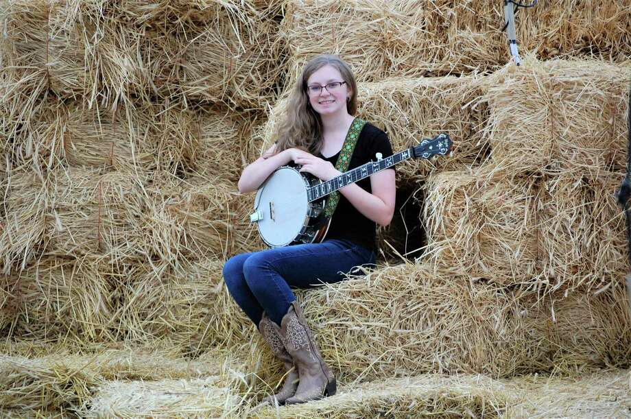 Clara Guilmette, a banjo player from Portland, is a freshman in the Music Education program at Central Connecticut State University. Photo: Contributed Photo
