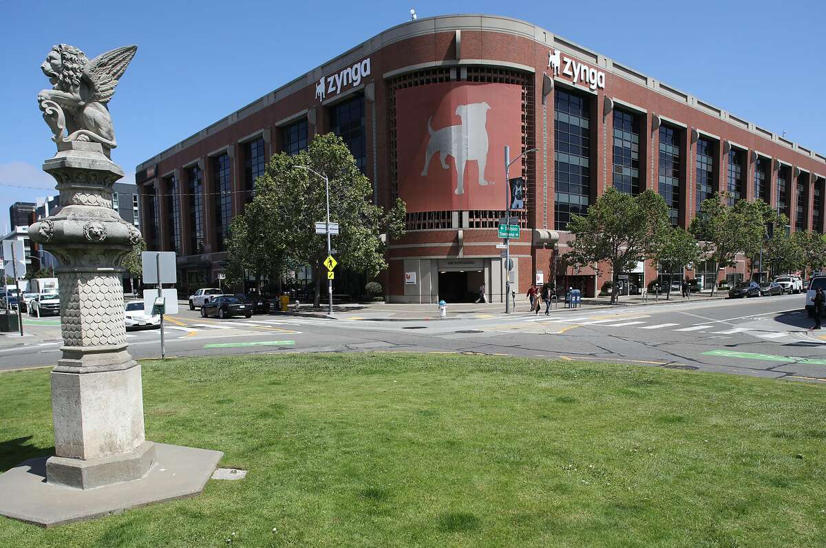 Outside view of Zynga seen on Tuesday, May 28, 2019 in San Francisco, Calif. Zynga is selling its headquarters building, but will lease it back and remain headquartered there.