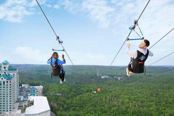 Foxwoods HighFlyer zipline is a thrill in Mashantucket.