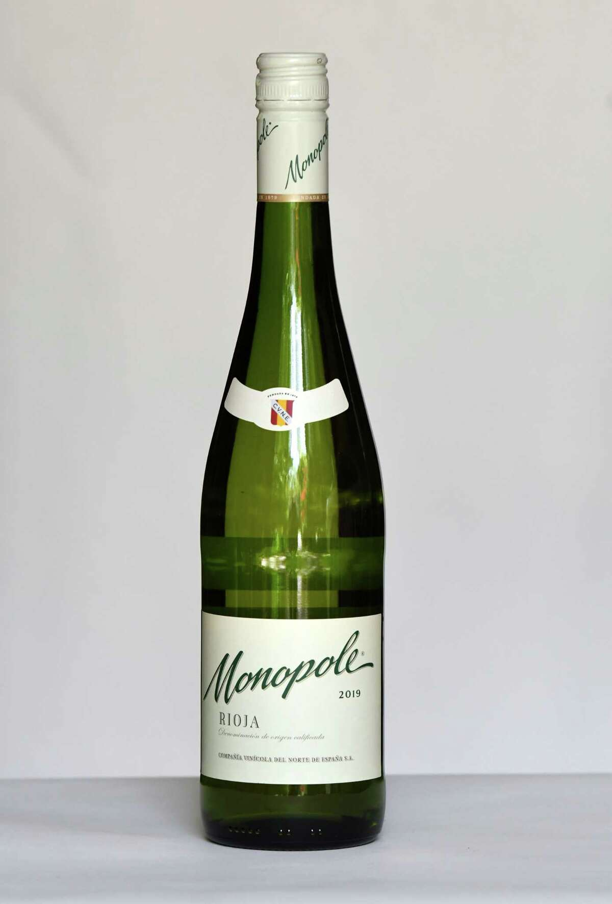 Monopole white rioja on Tuesday, May, 19, 2020, in Delmar, N.Y. (Will Waldron/Times Union)