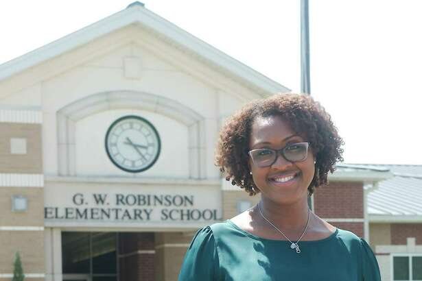 """Robinson Elementary School's new principal, Travisha Hewitt, is advising staff members and parents to """"remain positive and flexible"""" during the coming school year. """"Remembering and modeling our core values will be crucial,"""" she says."""
