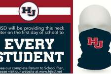 Students at Hardin-Jefferson ISD in Sour Lake will start the school year on Aug. 12 with a free neck gaitor, a type of face covering that is meant to protect students from the coronavirus.