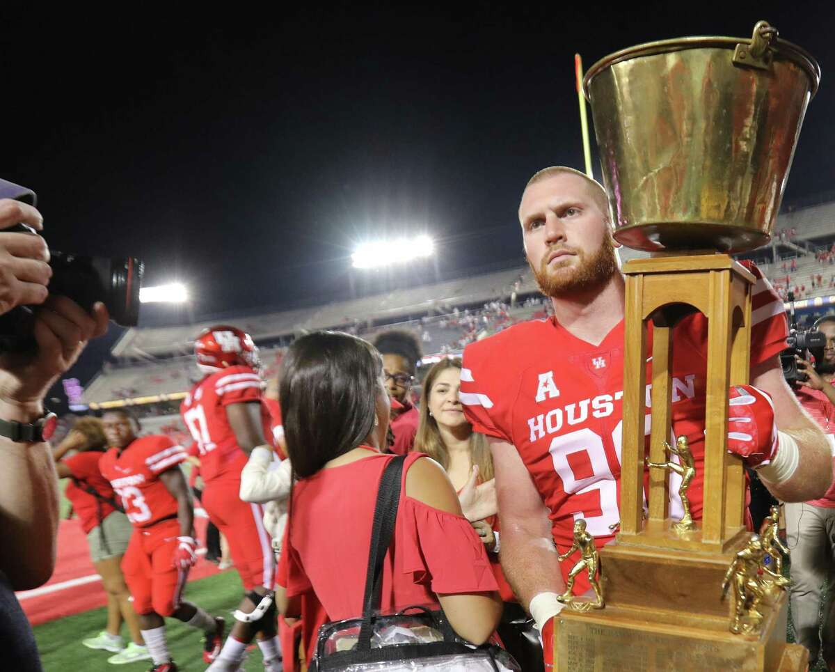 The Bayou Bucket remains in play for 2020, with UH schedule to host Rice in both teams' season opener Sept. 3.
