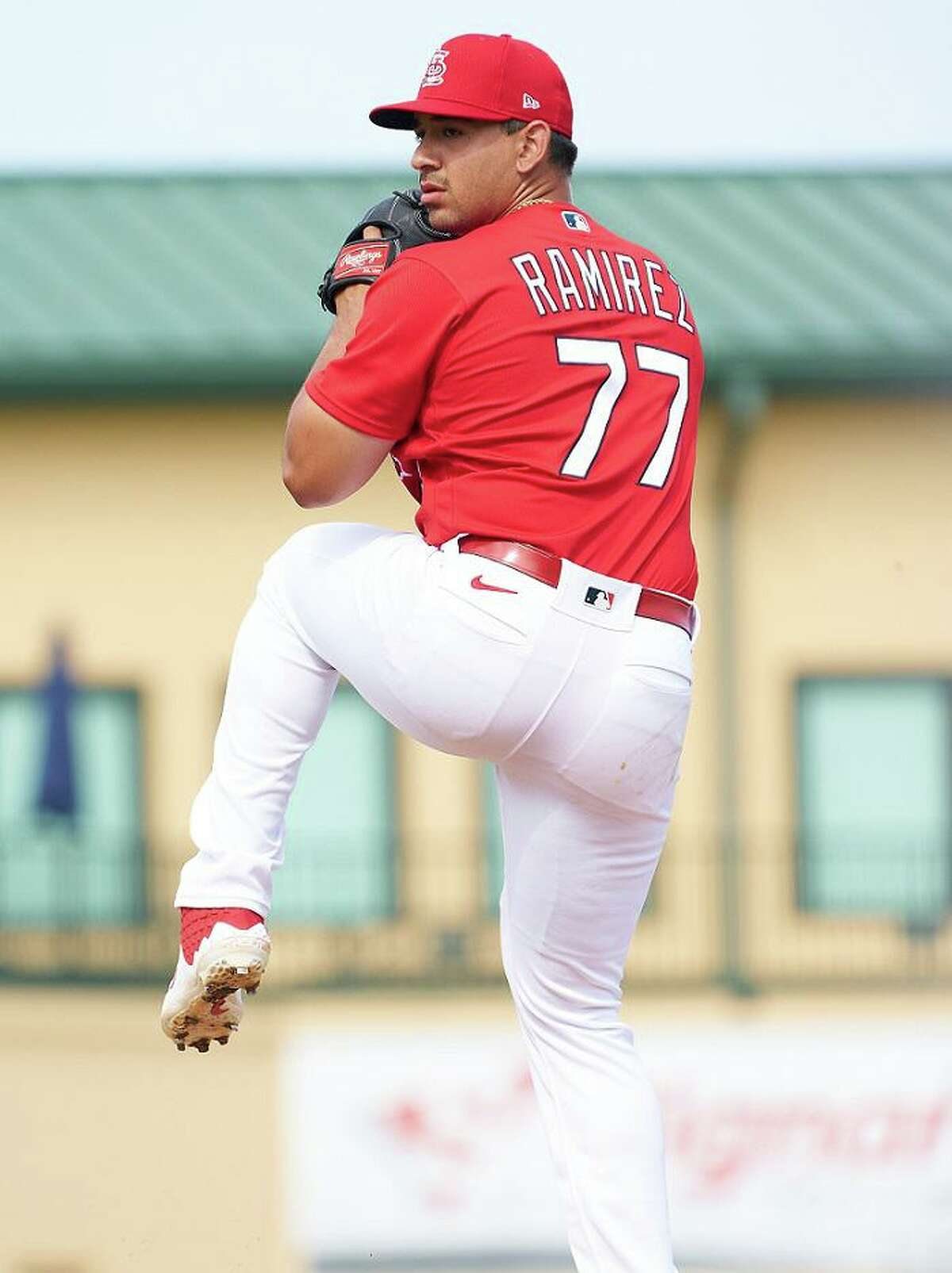 Former United South pitcher Roel Ramirez joined the Cardinals' active roster Wednesday.
