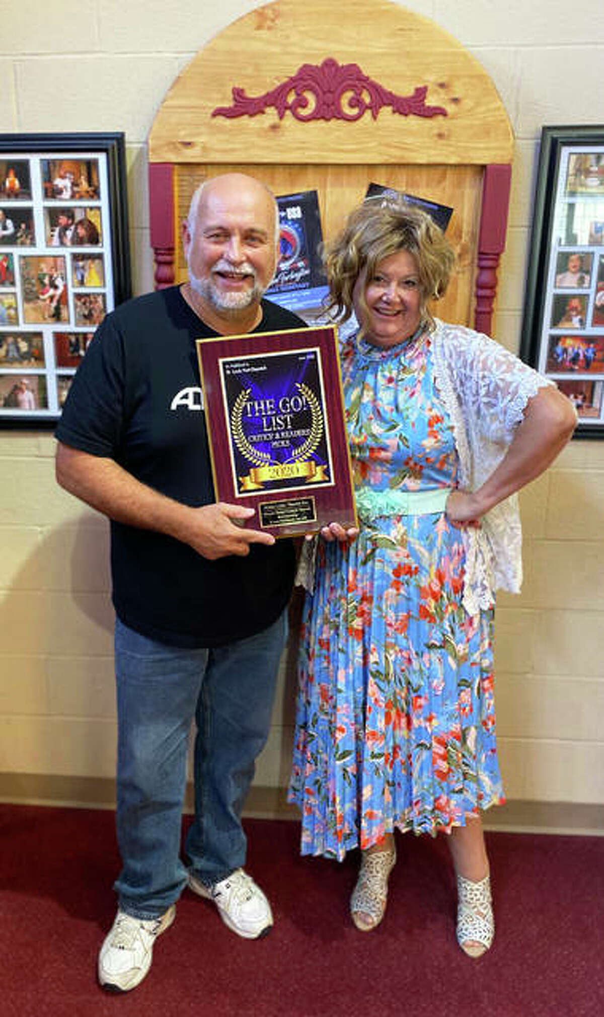 """Alton Little Theater won Arts for Life awards for Best Place to See a Musical and Best Costume Design for """"The Wizard of Oz"""" last season."""