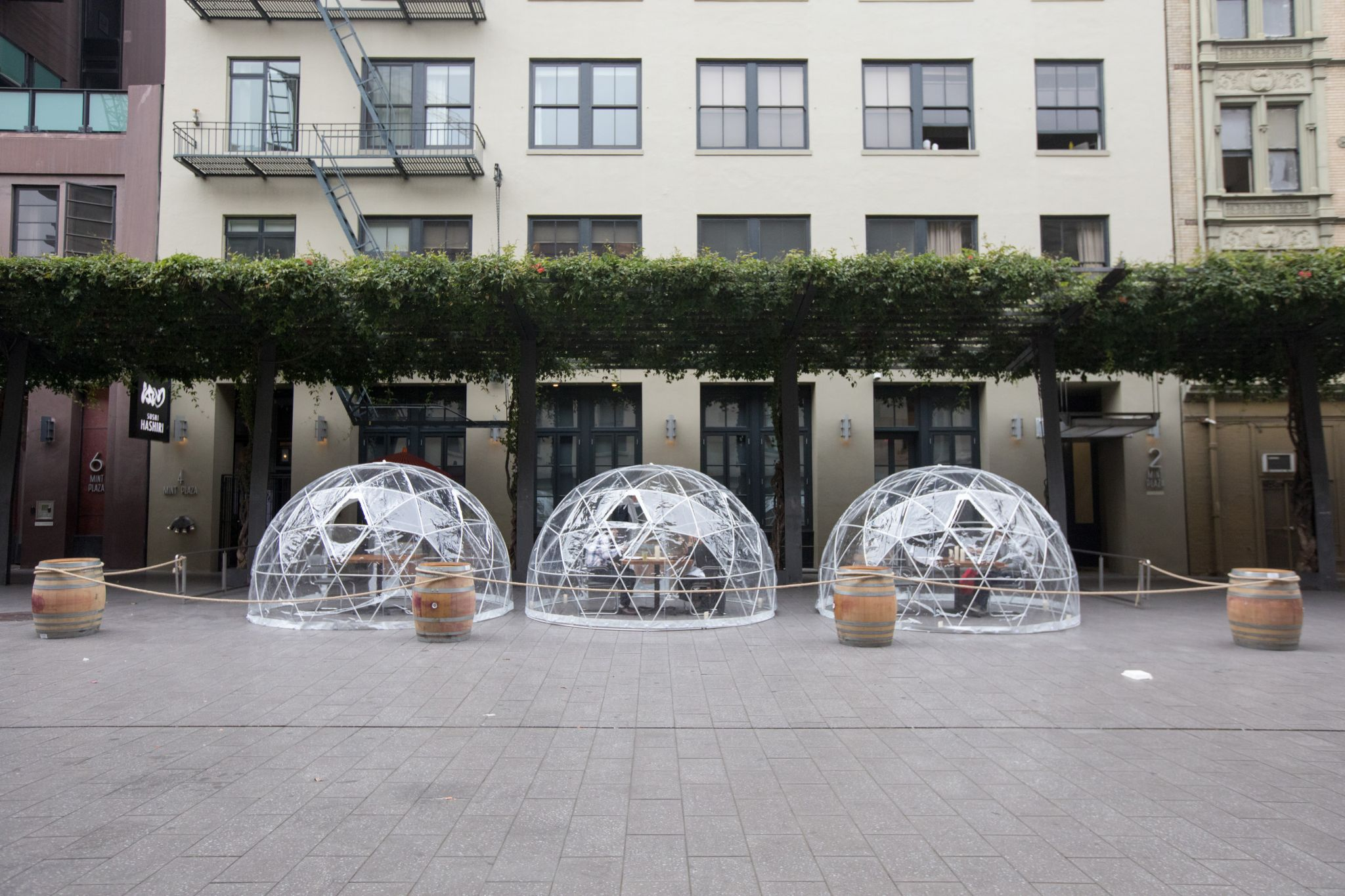 See Inside This San Francisco Restaurant S Quarantine Bubble Patio Seating