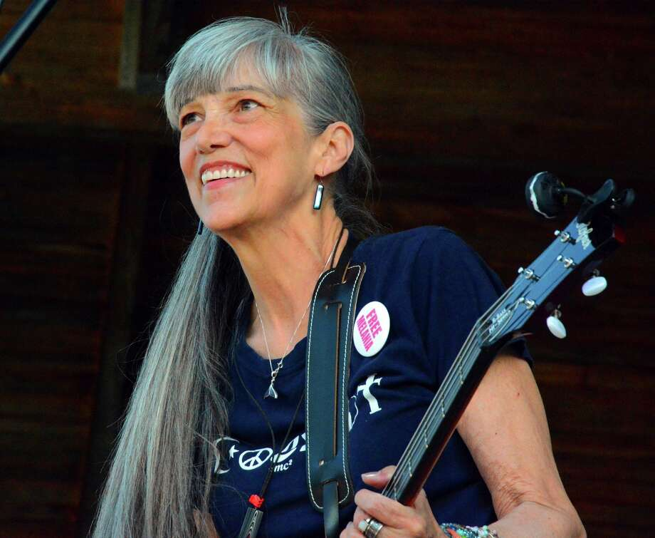 Libby Glover, is part of Mustard's Retreat,a folk music duo that has performed throughout the United States, since 1970. The duo will be the featuredentertainment at the next Folk Fridays concert Aug. 7. (Submitted photo)
