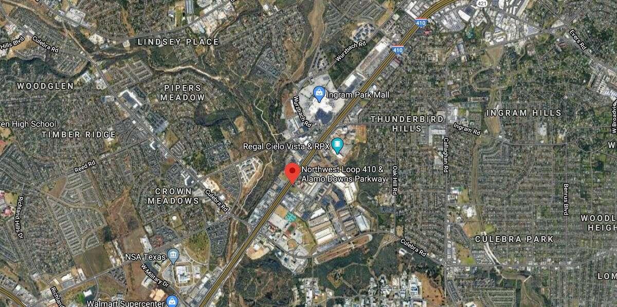 San Antonio police shut down a part of Loop 41o to investigate major auto-pedestrian accident.