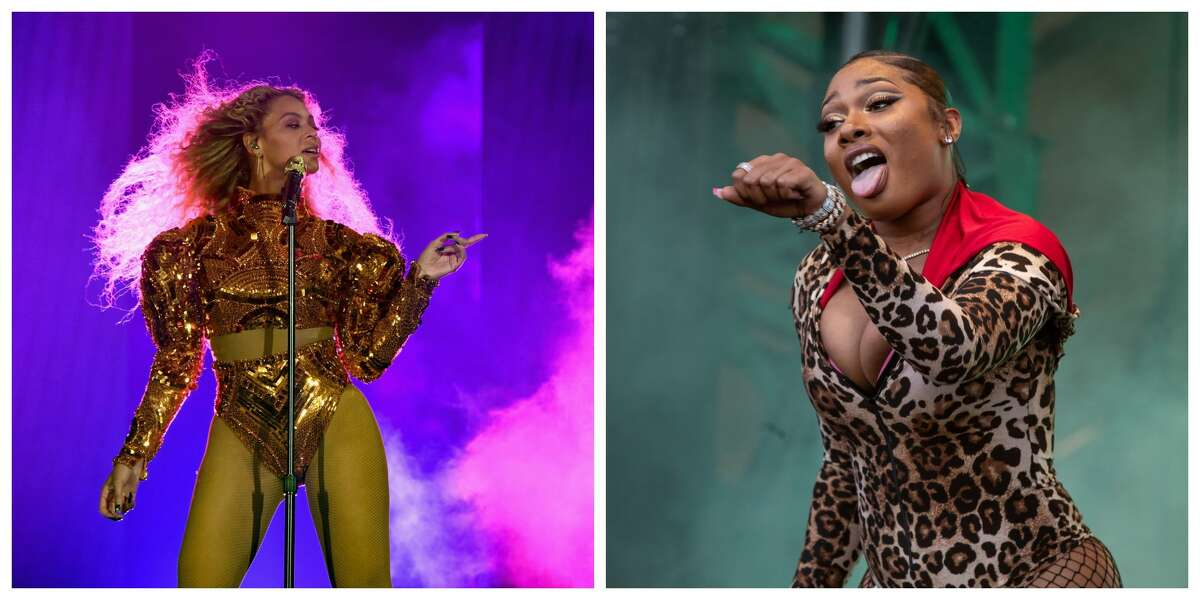 Houstonians Beyoncé and Megan Thee Stallion may take the stage together at the 2021 Grammys ceremony.