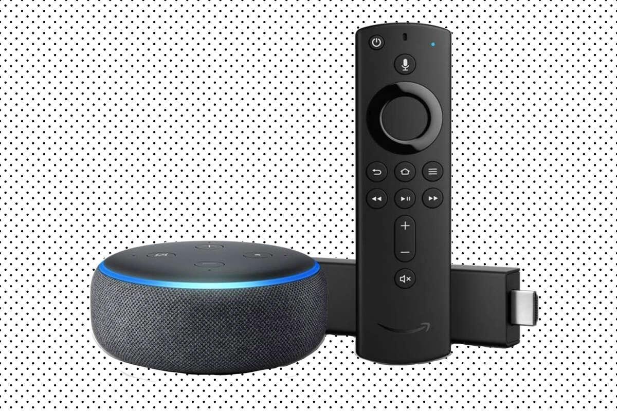 Echo Dot + Fire TV stick 4K Bundle, $64.98