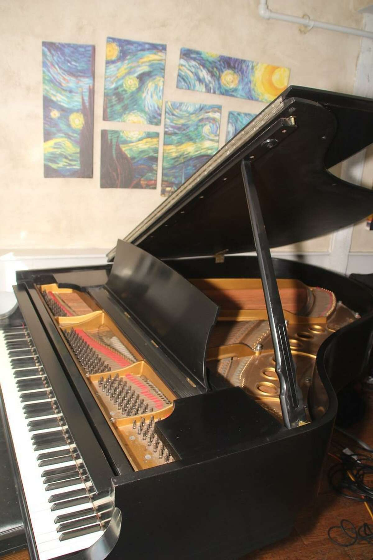 This 1937 Steinway model M was at the Village Gate in New York City until the club closed in 1988. Now the piano is at the Pearl restaurant in Westport, and is owned by the Jazz Society of Fairfield County.