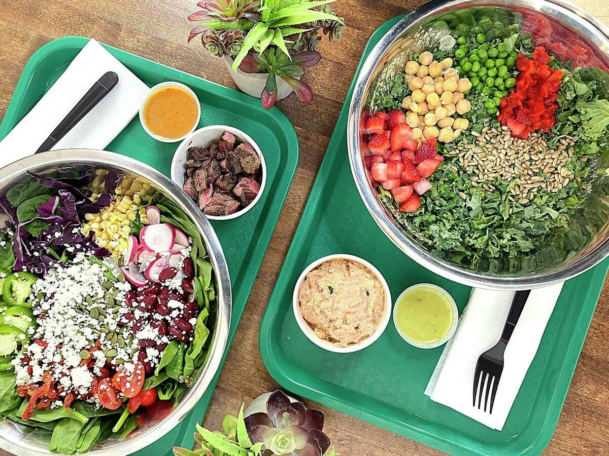 San Antonio's salad superstars include First Course Salad Kitchen, where custom salads have options like grilled teak and chipotle tuna salad.