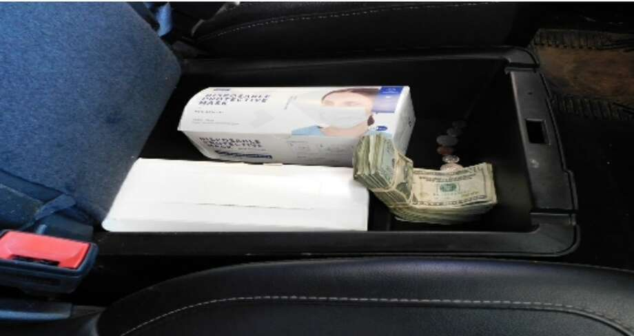 The Texas Department of Public Safety said they seized more than $26,000 following a traffic on Tuesday afternoon. One person was arrested in connection with the case. Photo: Courtesy
