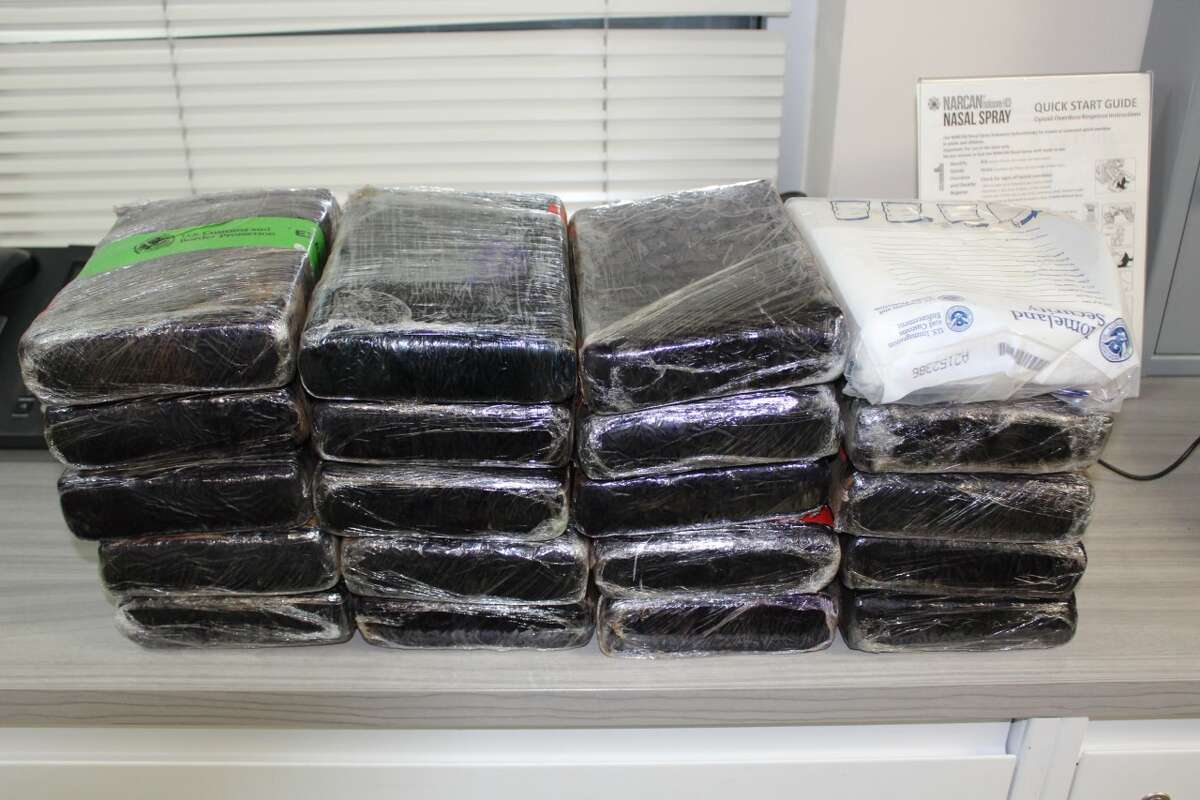 U.S. Customs and Border Protection officers said they seized 51.8 pounds of cocaine at the World Trade Bridge. The cocaine had an estimated street value of $399,500.