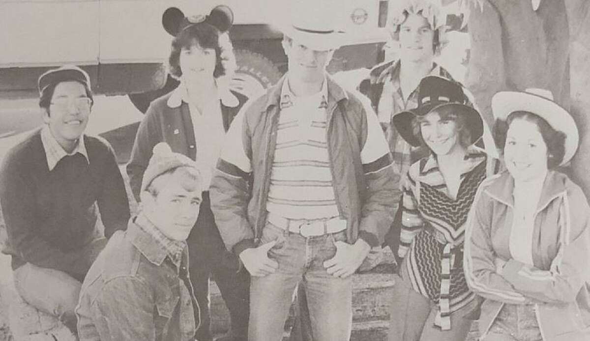 Houston Chronicle food editor Greg Morago attended Boys State in 1977 when he was a student at Casa Grande Union High School in Casa Grande, Ariz. He is shown, far left, with other Boys State and Girls State participants from his high school