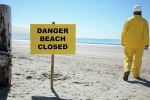 Bird Creek beach is closed due to elevated levels ofE. coli. (Tribune File Photo)
