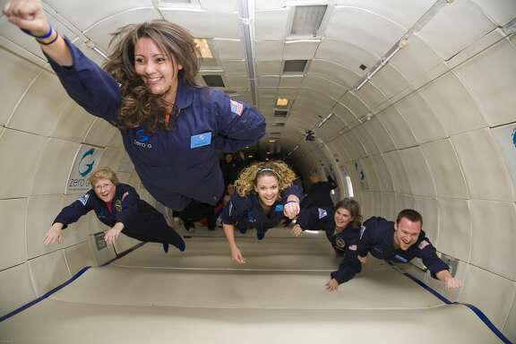 Image courtesy of Zero-G Experience.